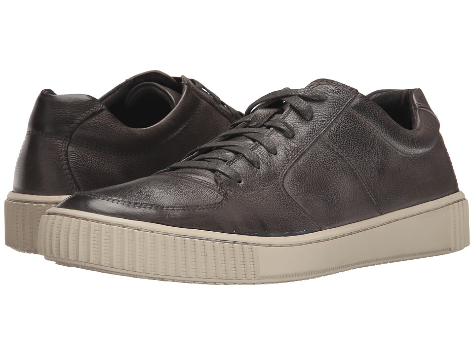 John Varvatos - Bedford Low Top (Coal) Men