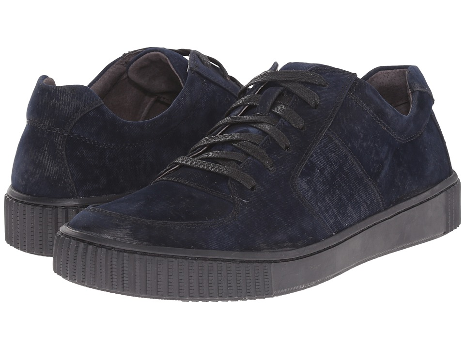 John Varvatos - Bedford Low Top (Midnight) Men