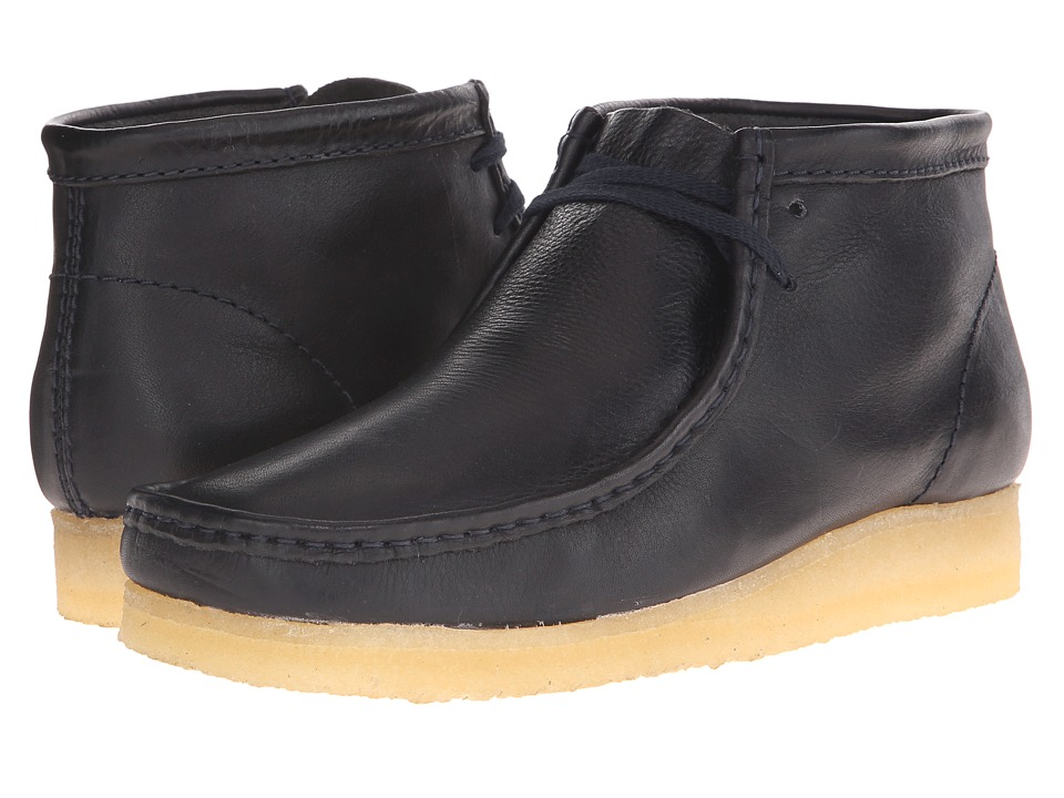 Clarks - Wallabee Boot (Navy) Men