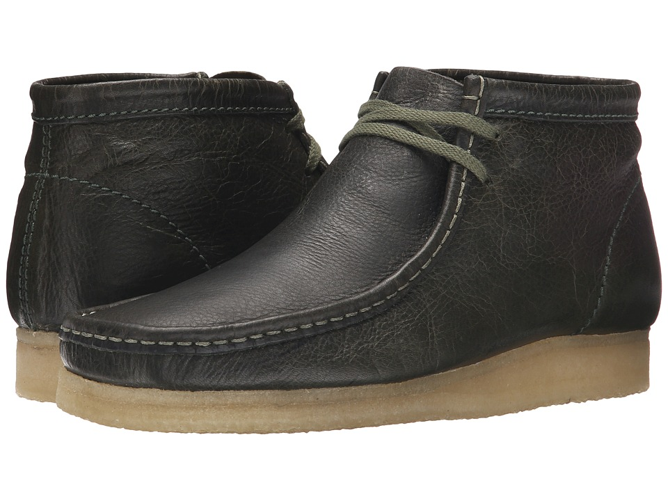 Clarks - Wallabee Boot (Leaf) Men's Lace-up Boots