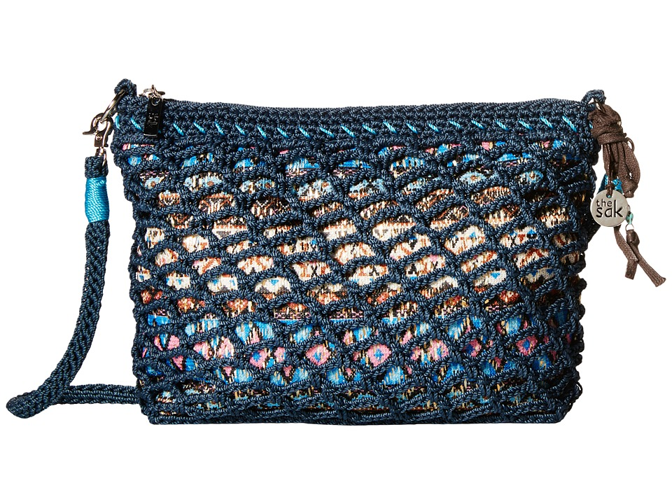 The Sak - Classic Minis 3-in-1 Clutch (Vintage Blue Tribal) Cross Body Handbags