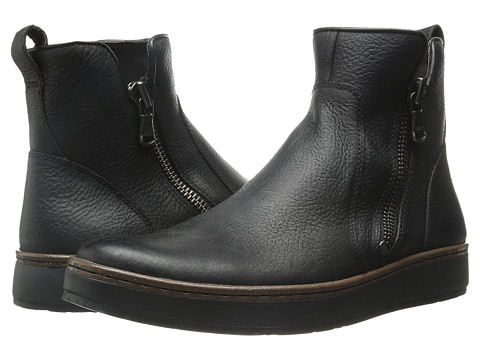 John Varvatos - Barrett Creeper Boot (Black) Men's Zip Boots