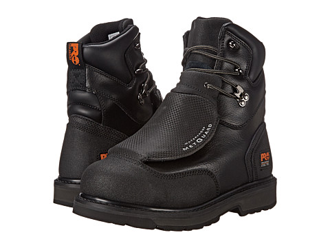 Timberland - CSA 8 Met Guard Steel Toe BK (Black) Men's Work Boots