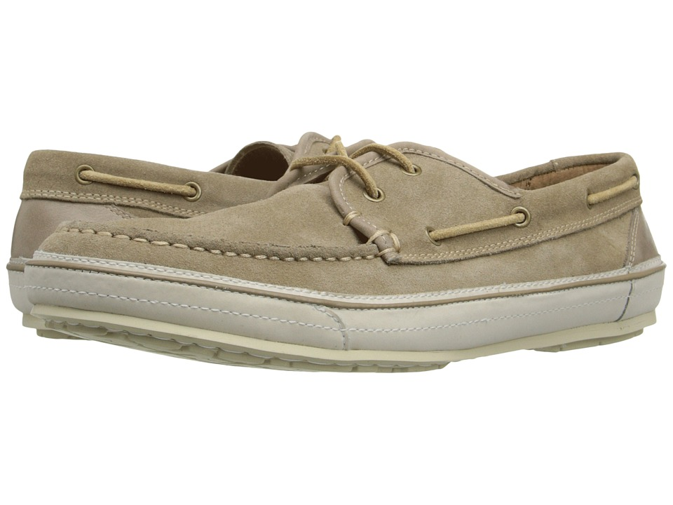 John Varvatos Redding Boat Shoe (Desert Sand) Men