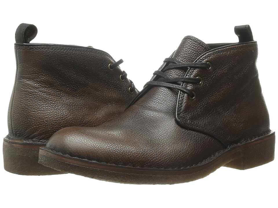 John Varvatos - Hipster Crepe Chukka (Walnut) Men