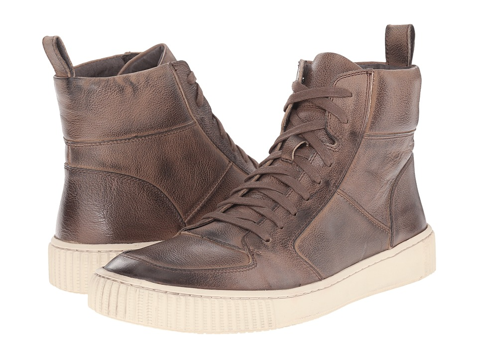 John Varvatos - Bedford Hi Top (Mocha) Men