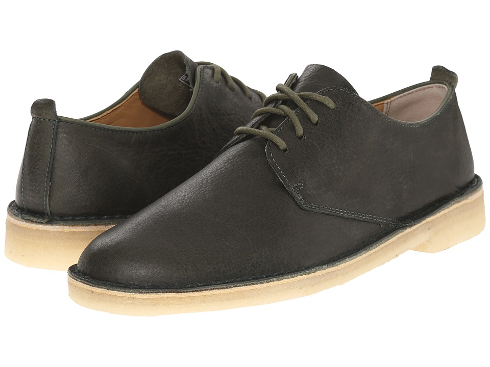 Clarks - Desert London (Leaf) Men's Lace up casual Shoes