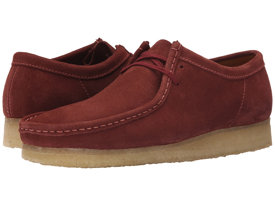 Clarks - Wallabee (Terracotta) Men's Lace up casual Shoes