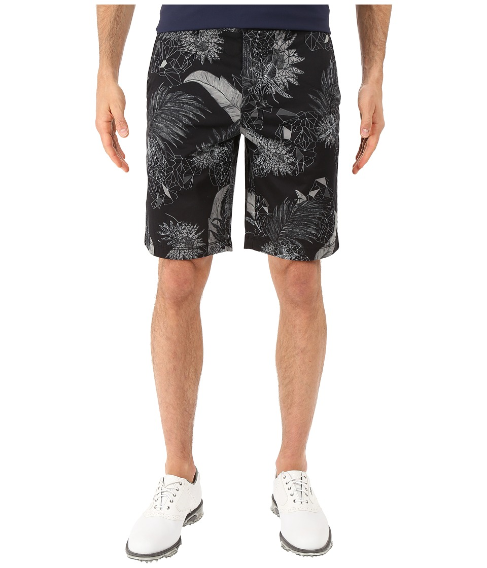 BOSS Green - Liem2-Print-W 101883 (Black) Men's Shorts