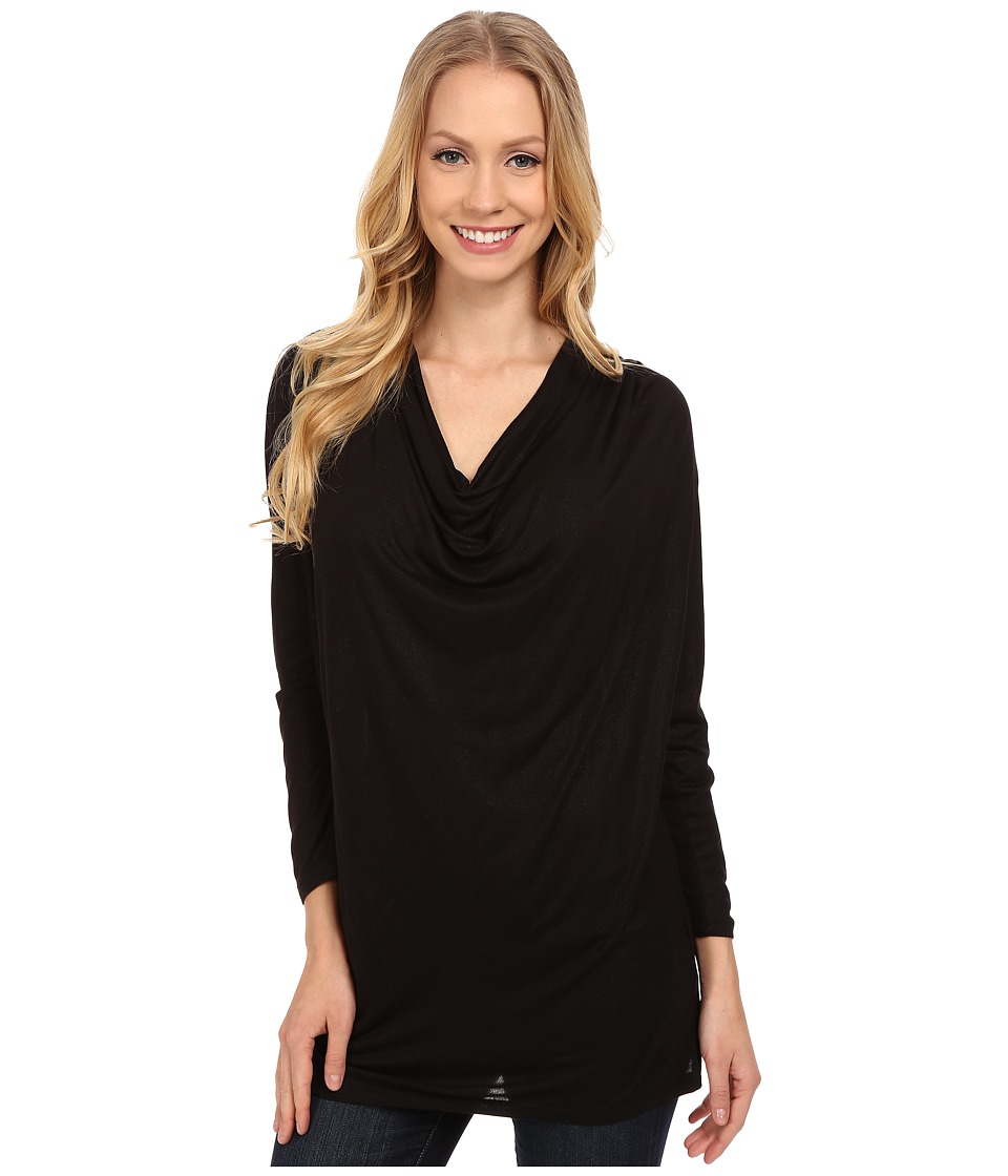 Calvin Klein Jeans - Foiled Cowl Neck Top (Black) Women