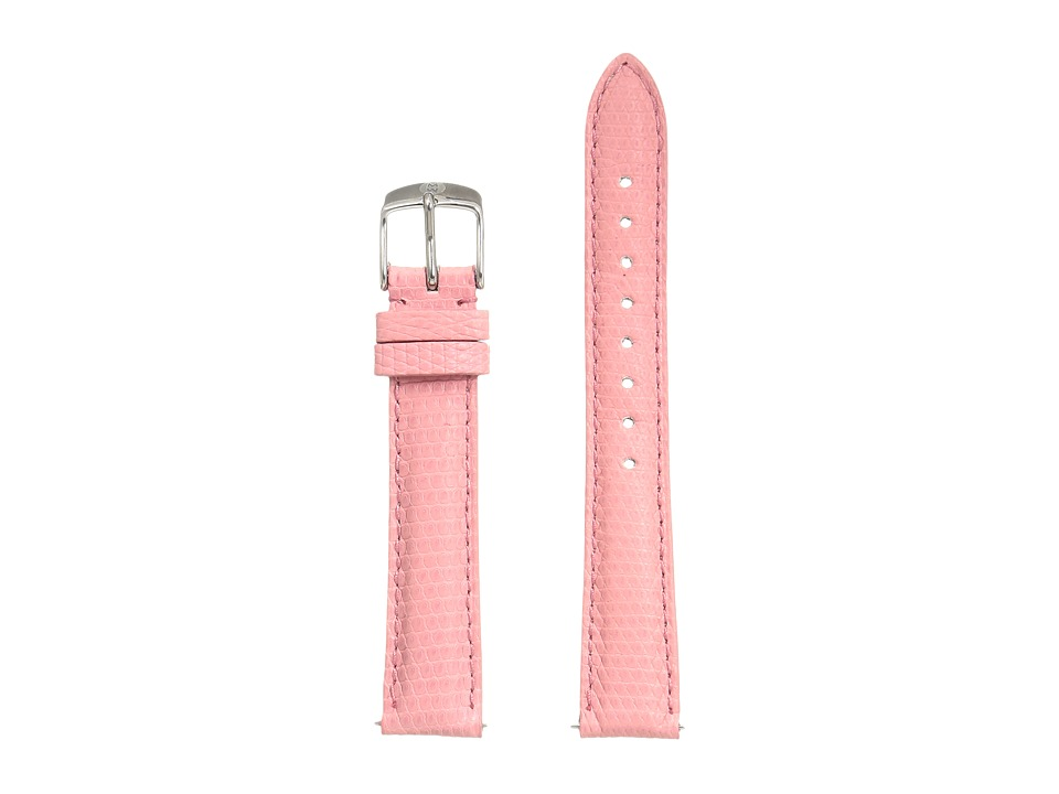 Michele - Strap 16mm - Coral Lizard (Lizard) Watches