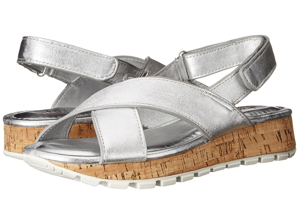 SKECHERS - Footsteps - Jagged Star (Silver) Women's Sandals