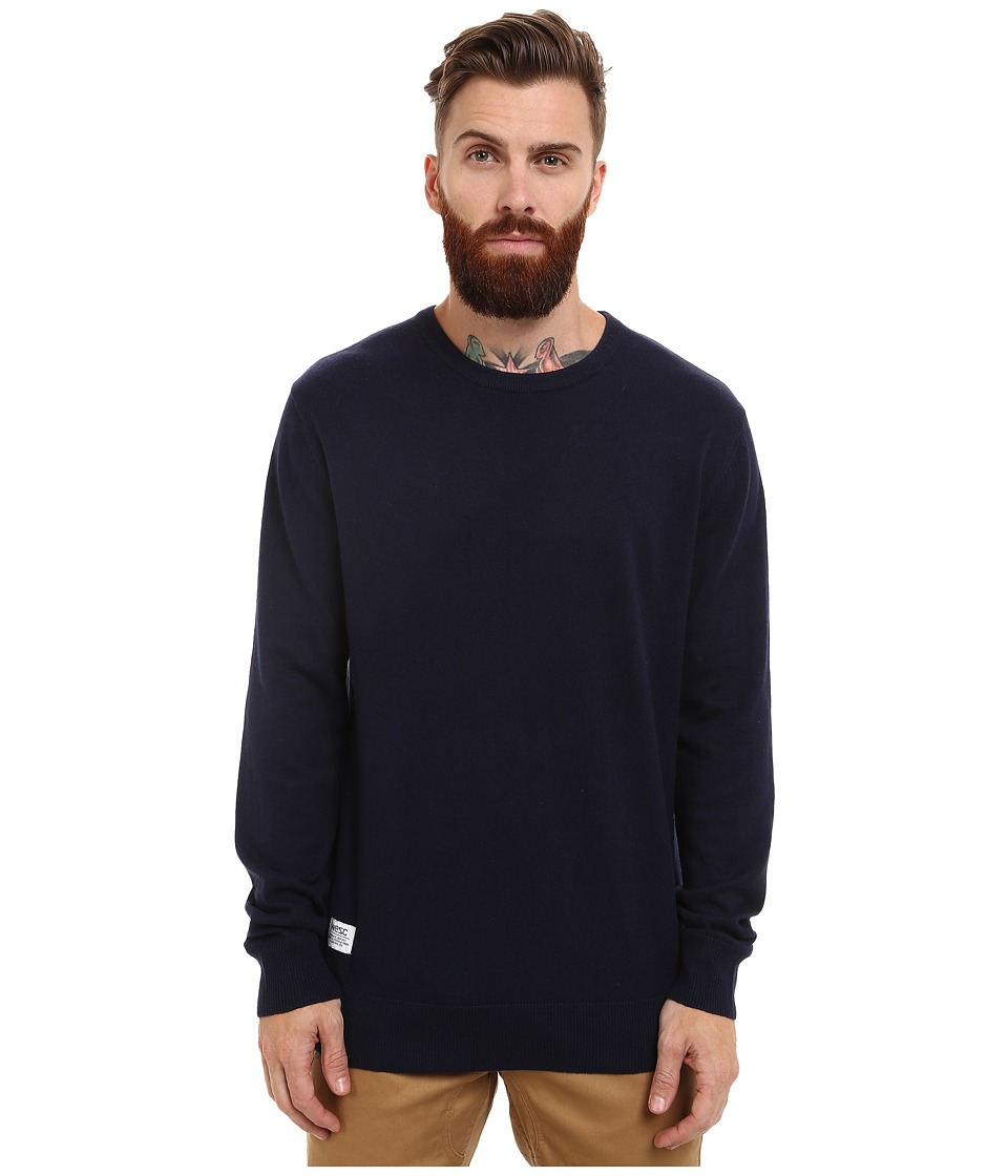 WeSC - Anwar Knitted Sweater (Blue Iris) Men's Sweater
