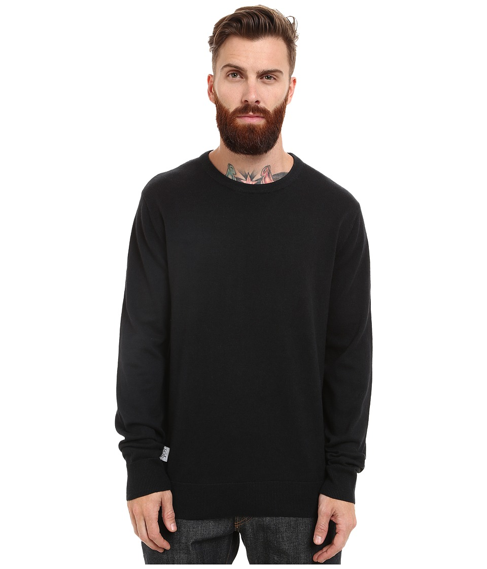WeSC - Anwar Knitted Sweater (Black) Men's Sweater