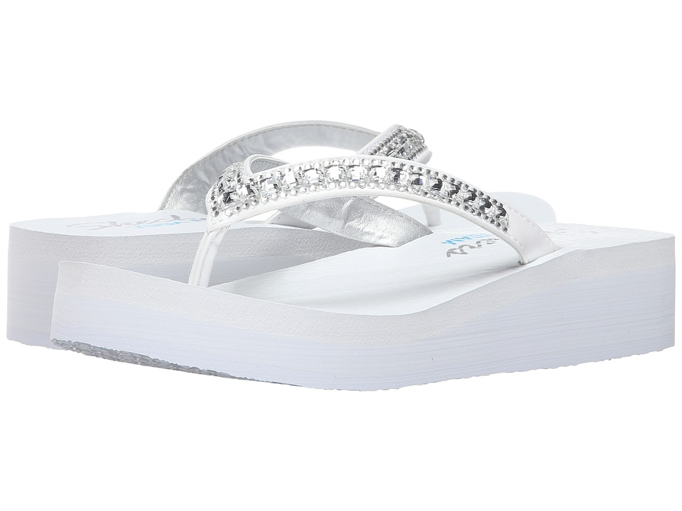 SKECHERS - Vinyassa - Treasure Trove (White) Women's Sandals