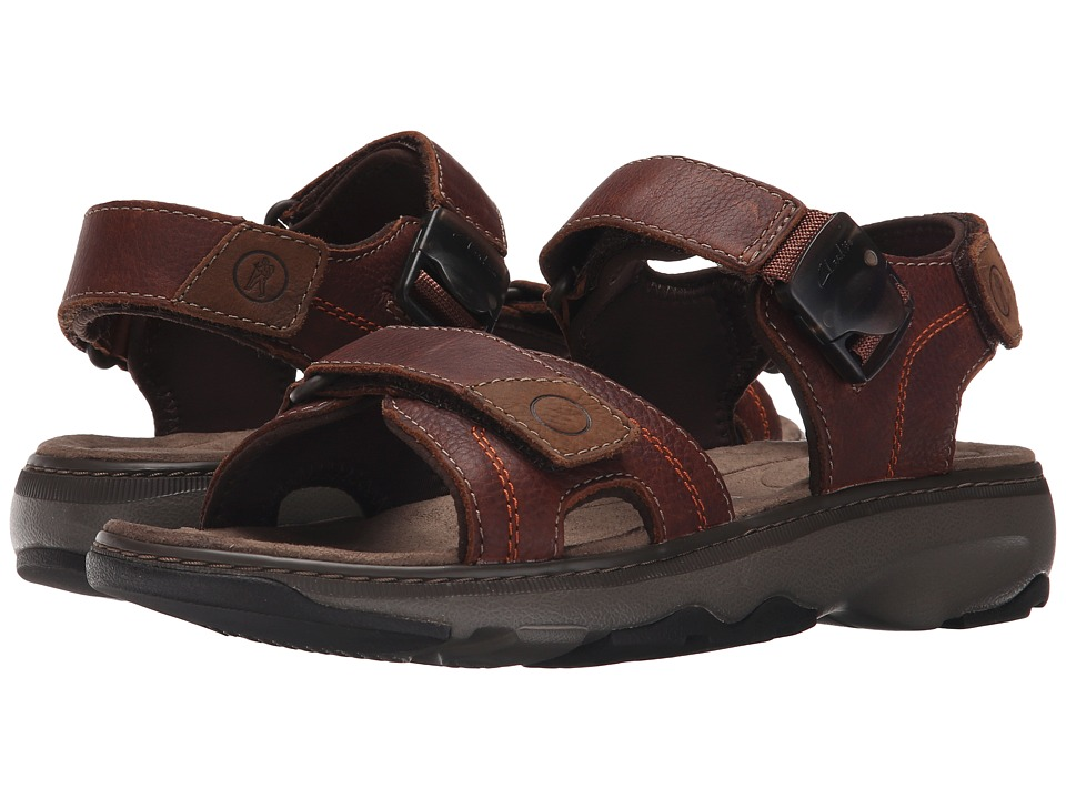6d9bca6c80c3 UPC 889305064708 product image for Clarks - Raffe Sun (Brown Leather) Men s  Sandals ...