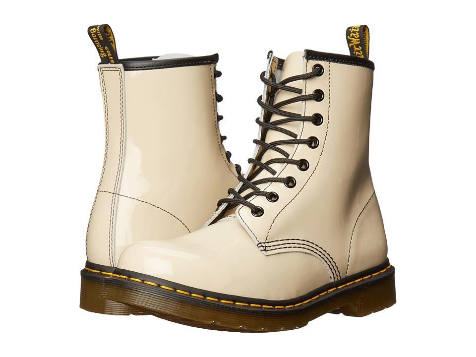 Dr. Martens - 1460 W (Porecelain Patent Lamper) Women's Lace-up Boots