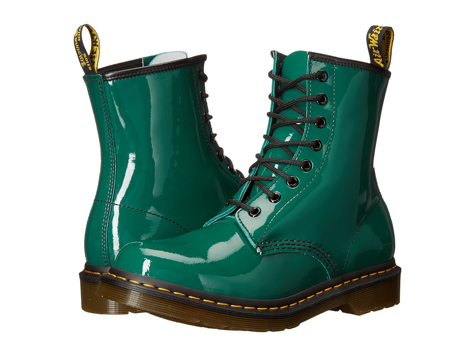 Dr. Martens - 1460 W (Forest Patent Lamper 1) Women's Lace-up Boots