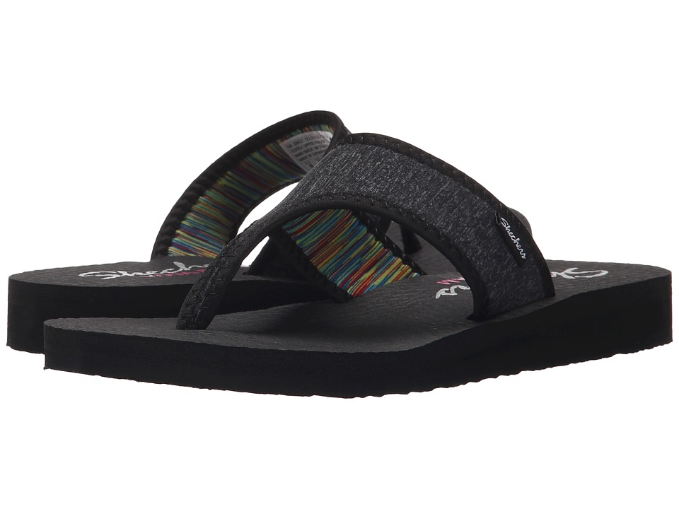 SKECHERS - Meditation - Zen Child (Black) Women's Sandals
