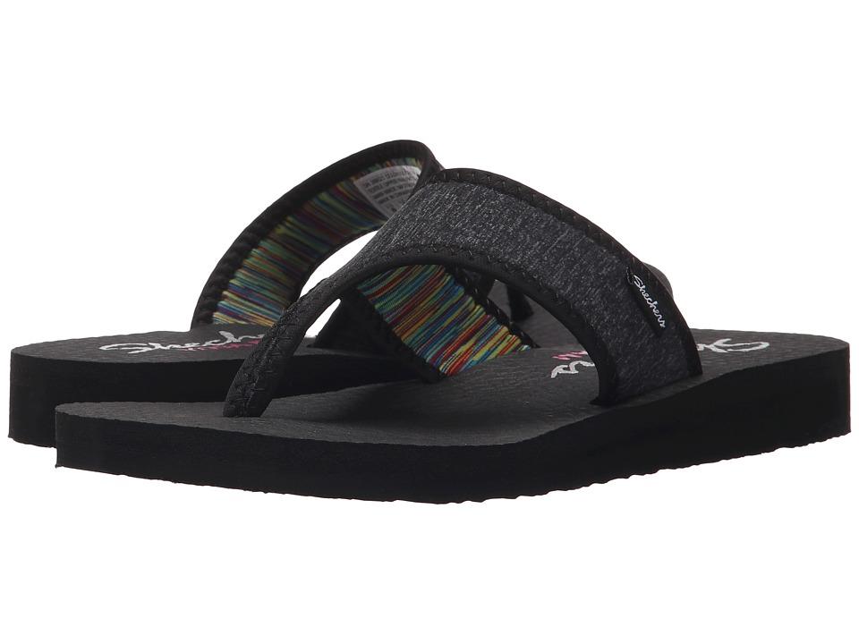SKECHERS - Meditation - Zen Child (Black) Women's Sandals