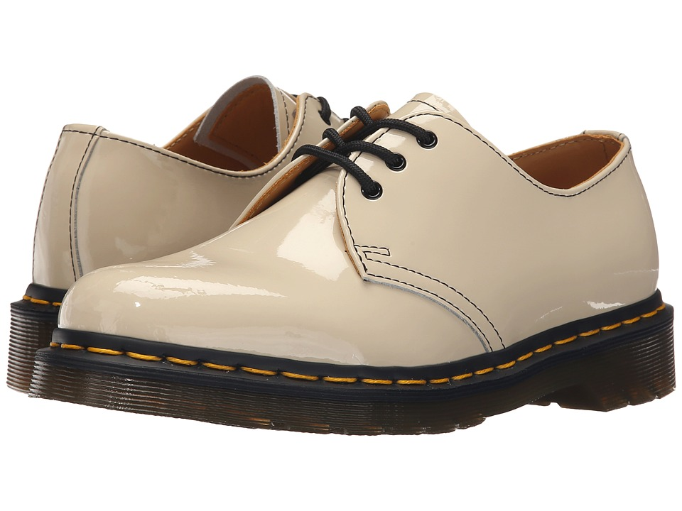 Dr. Martens - 1461 3-Eye Gibson (Porcelain Patent Lamper) Women's Lace up casual Shoes