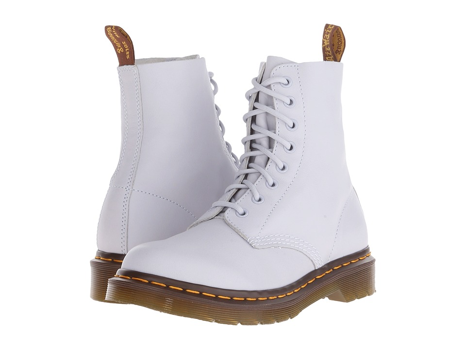 Dr. Martens - Pascal 8-Eye Boot (Blue Moon Virginia) Women's Lace-up Boots