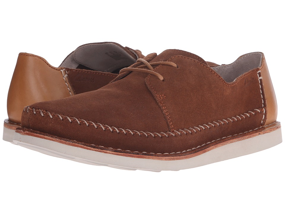 Clarks Brinton Craft (Tobacco Suede) Men