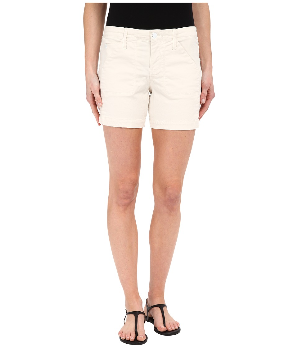 Calvin Klein Jeans - Color Driver Shorts (Misty White) Women's Shorts