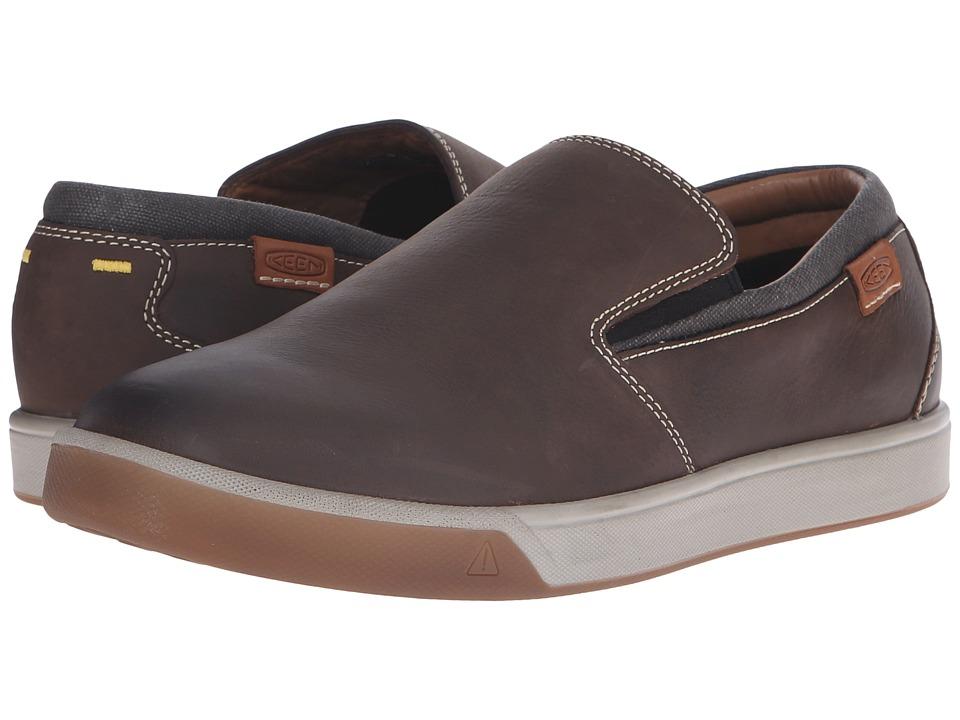 Keen - Glenhaven Slip-On (Cascade Brown) Men's Shoes