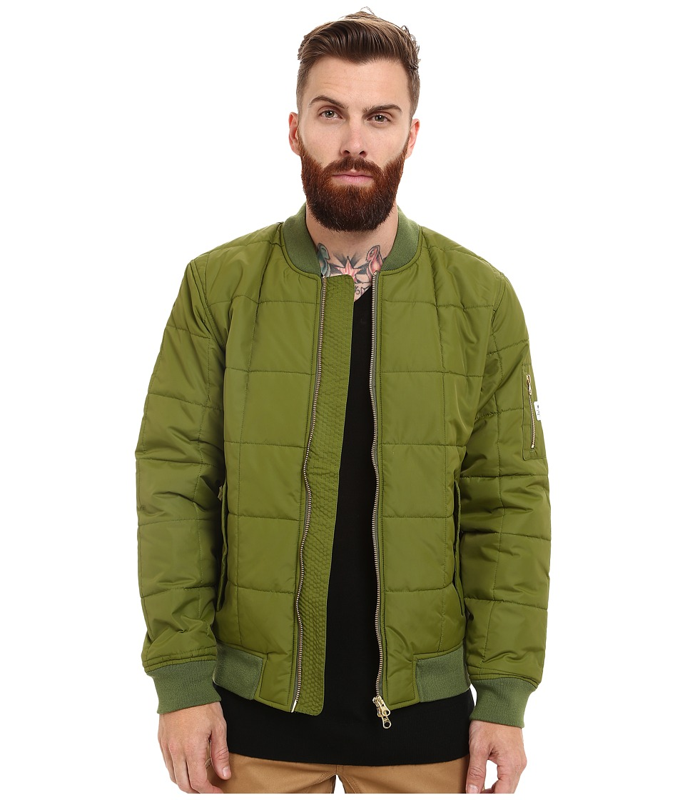 WeSC - Rami Padded Jacket (Cedar Green) Men's Coat