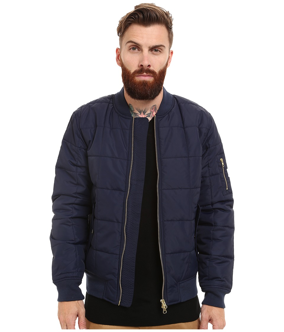 WeSC - Rami Padded Jacket (Blue Iris) Men's Coat