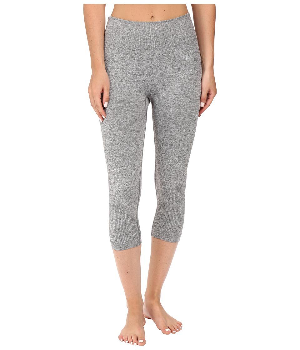 Fila Leg High Seamless Tights (Varsity Heather) Women