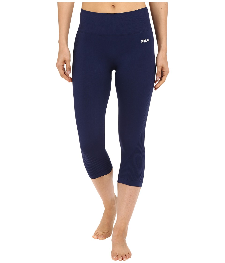 Fila - Leg High Seamless Tights (Navy Power) Women's Workout