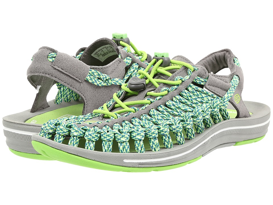 Keen - Uneek Flat (Jasmine Green/Camo) Women's Shoes