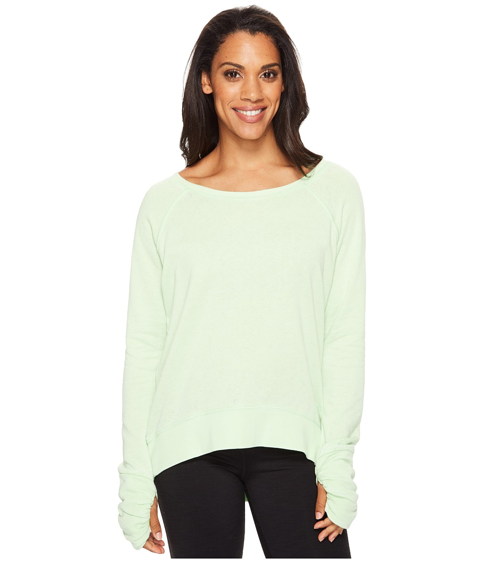 Fila - Swerve Boat Neck Top (Apple Chew) Women's Long Sleeve Pullover