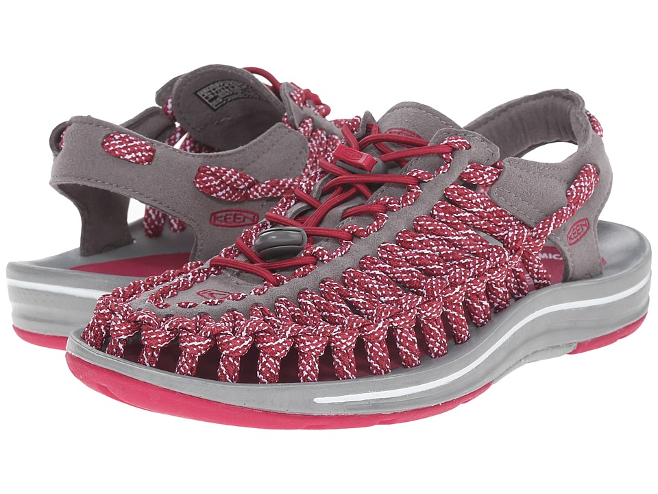 Keen - Uneek Flat (Sangria/Camo) Women's Shoes
