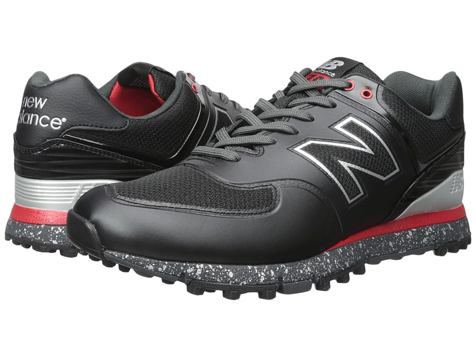 New Balance Golf - NBG574B (Black/Red) Men's Golf Shoes