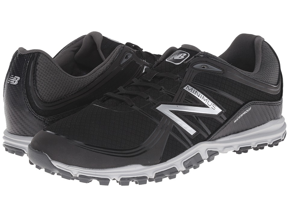 New Balance Golf - NBG1005 Minimus (Black) Men's Golf Shoes