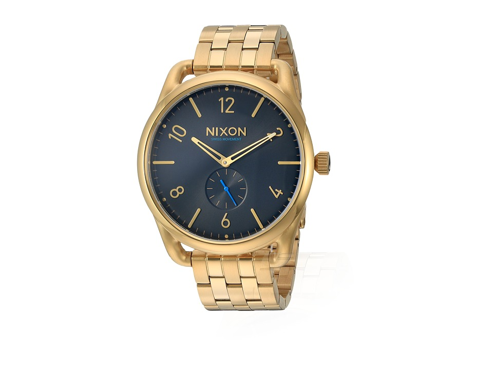 Nixon - C45 SS (All Gold/Black) Watches