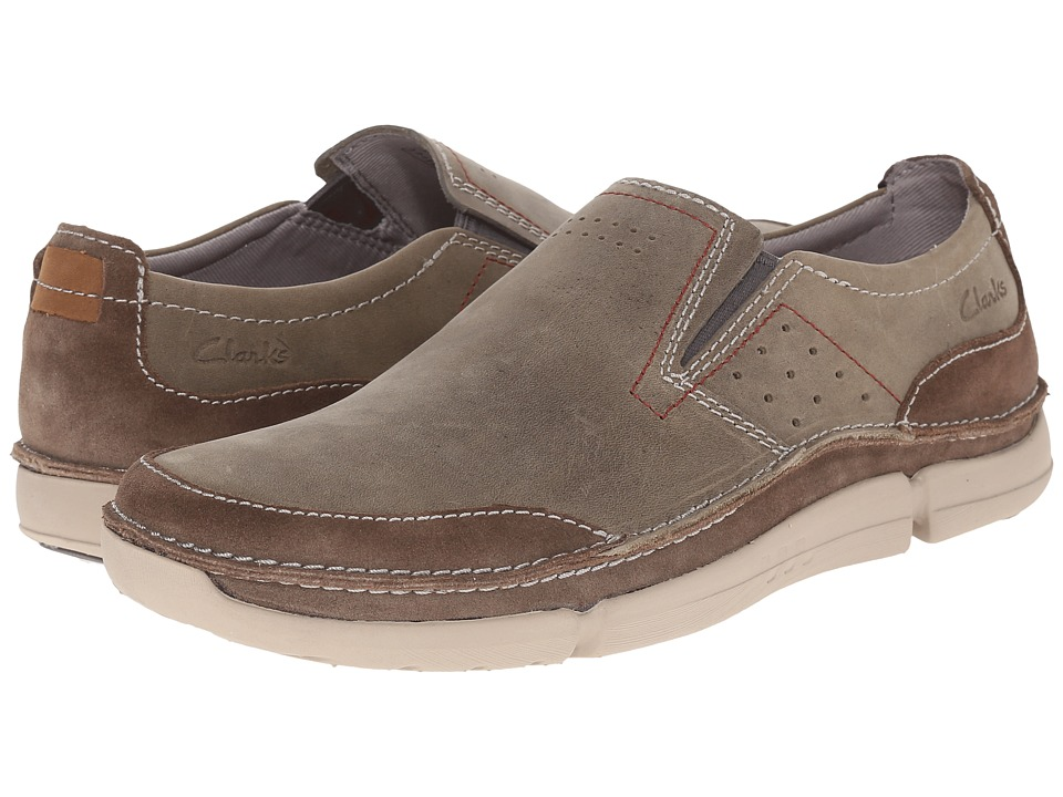 Clarks - Trikeyon Step (Olive Leather) Men