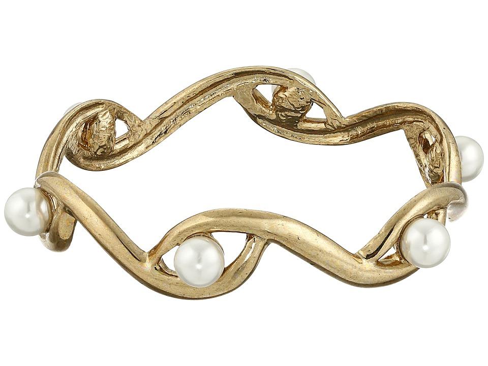Oscar de la Renta - Octopus Pearl Bracelet (Light Gold) Bracelet