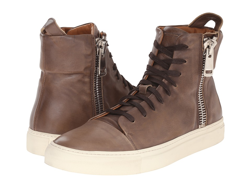 John Varvatos - Reed Zip Boot (Rye) Men's Lace-up Boots