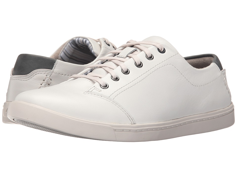 Clarks - Newood Street (White Leather) Men's Lace up casual Shoes