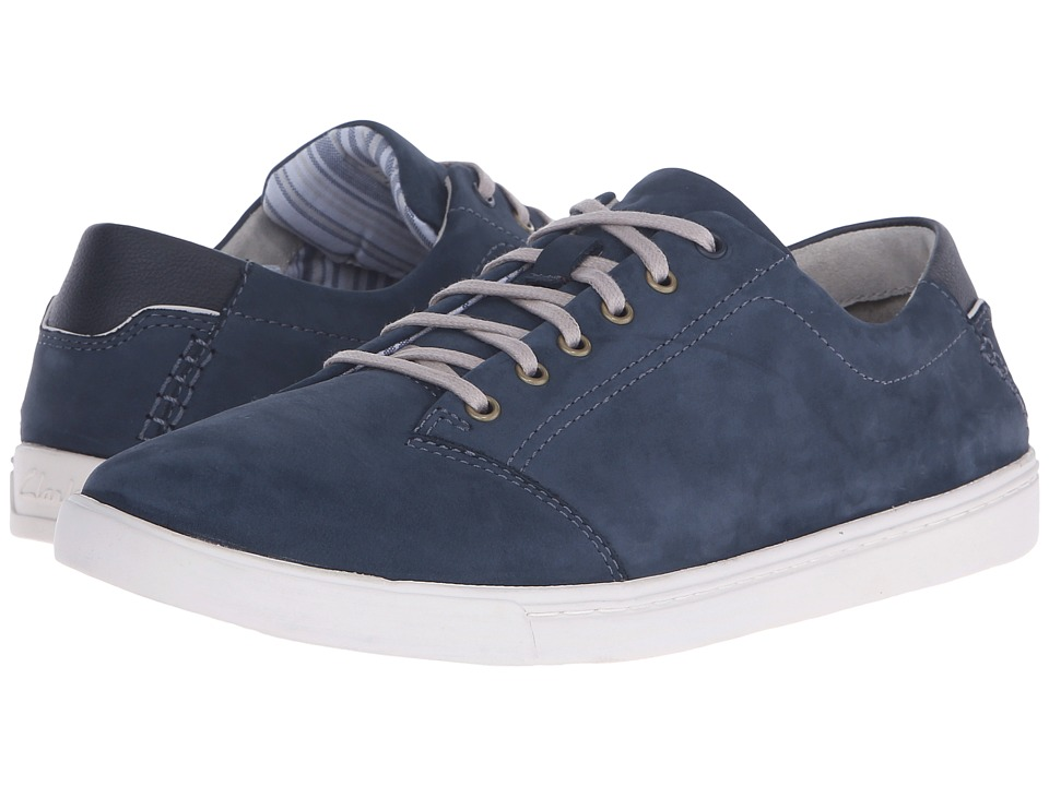 Clarks Newood Street (Denim Blue) Men