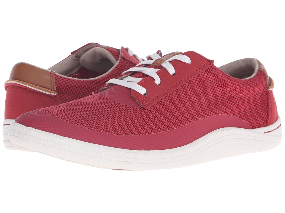 Clarks - Mapped Edge (Red Combination) Men's Lace up casual Shoes
