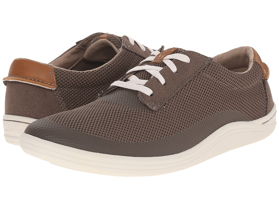 Clarks Mapped Edge (Olive) Men