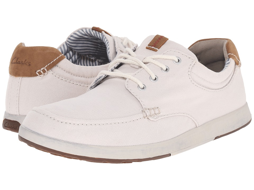 Clarks - Norwin Vibe (Off-White) Men's Shoes