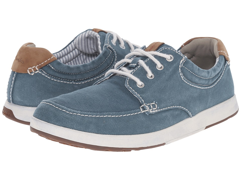 Clarks - Norwin Vibe (Teal) Men's Shoes