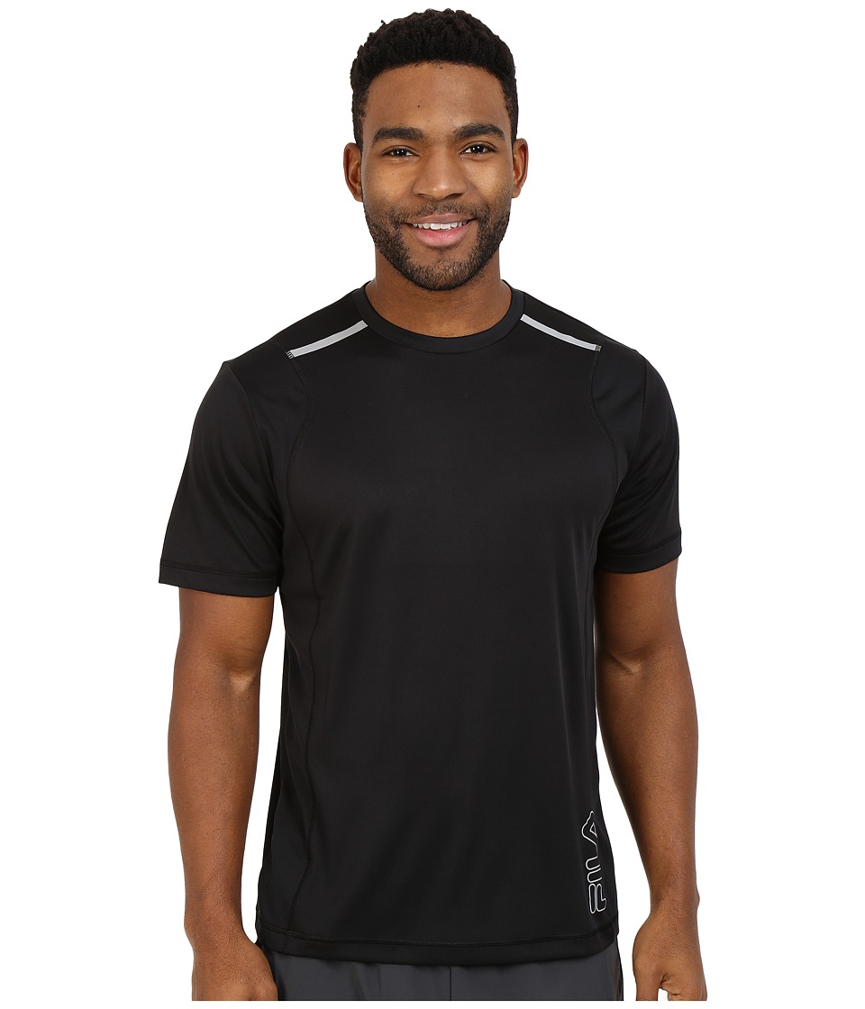 Fila - Stamina Crew (Black) Men's T Shirt