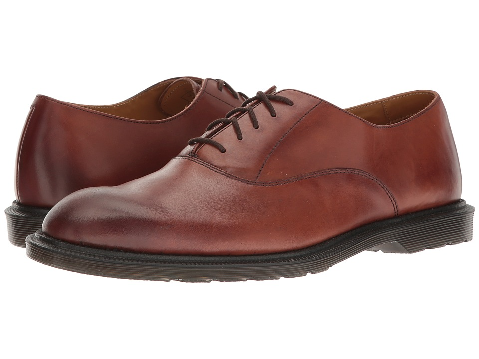Dr. Martens - Fawkes Oxford Shoe (Oak Temperley) Men's Lace up casual Shoes